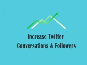 twitter conversations and followers